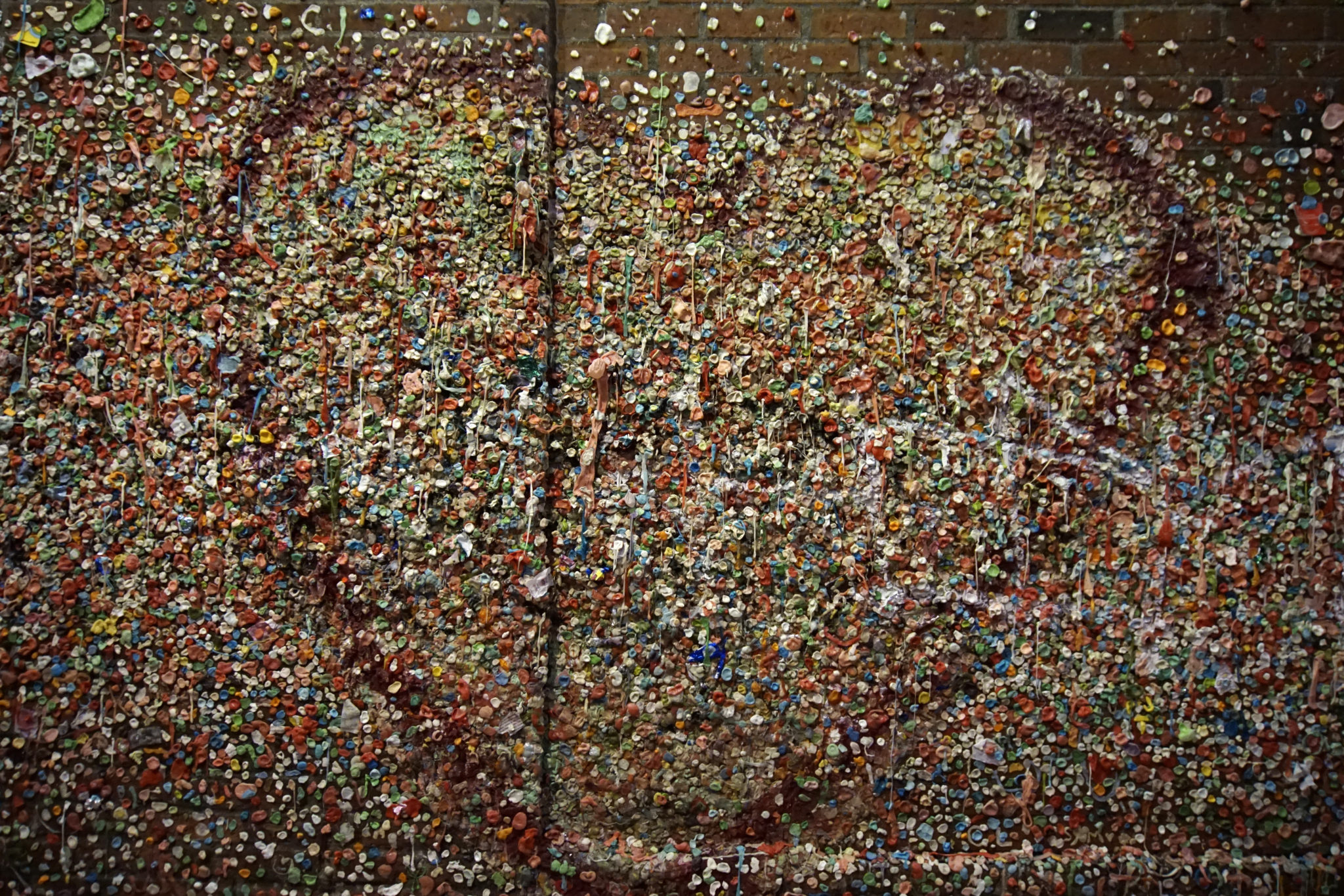 The Market Theater Gum Wall, Seattle WA.
